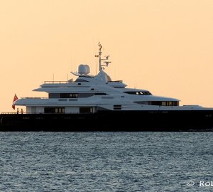 Photos: 43m ShipWorks Brisbane ALASKA Yacht entering the port of Livorno in Italy