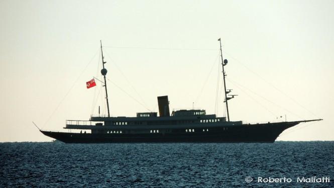 90m Corsair charter yacht NERO - Photo credit to Roberto Malfatti