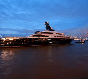 91.5m Oceanco mega yacht Equanimity receives two awards in two weeks