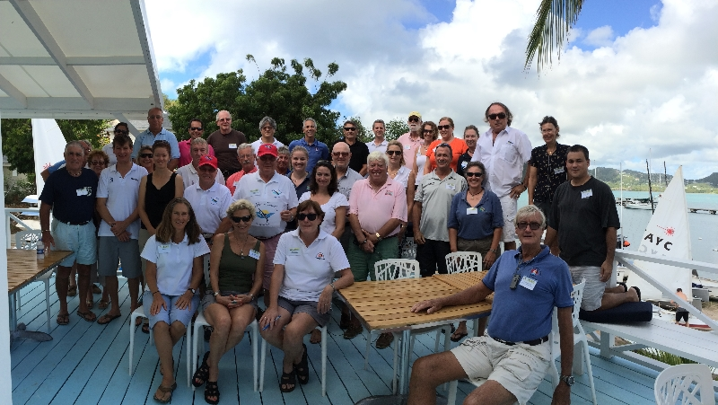 Delegates gathered at Antigua Yacht Club during the CSA Annual Conference held October 24-26