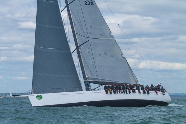 Jeremy Pilkington's 78ft maxi yacht Lupa of London (GBR) - Credit to Enno Oldigs