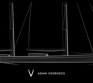 Sneak preview of new 70m sailing yacht project by Adam Voorhees