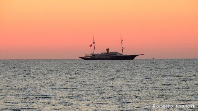 Luxury charter yacht NERO