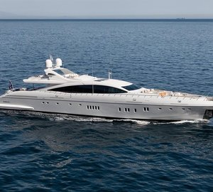 Superyacht of the Year 2014 Award for Mangusta 165E motor yacht MOONRAKER