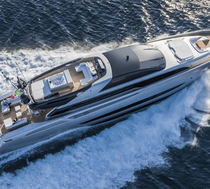 Riva 122' Mythos superyacht SOL to be displayed at FLIBS 2014