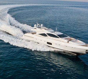 Hull #2 of motor yacht Mangusta 110 series sold by Overmarine Group