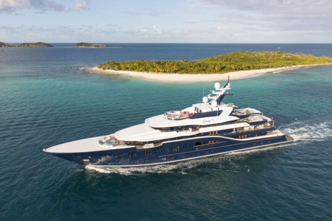 Mega yacht Solandge by Lurssen