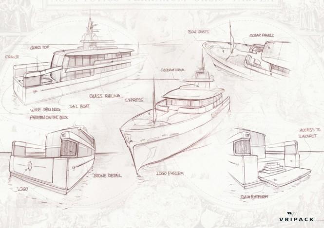 Motor yacht CASA concept by Vripack