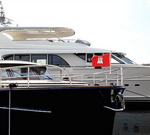 Four luxury yachts designed by Guido de Groot showcased at three major international boat shows in September 2014