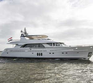 Mulder 98 Flybridge Yacht YN1391 successfully completes technical sea trials