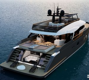 New 32m motor yacht LIBERTY unveiled by Columbus Yachts