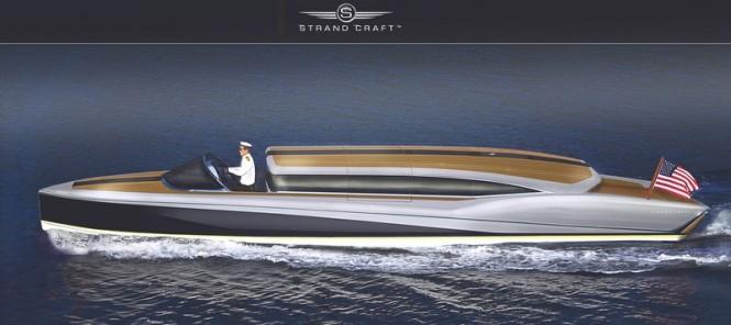 Silverbird Limo superyacht tender by Strand Craft
