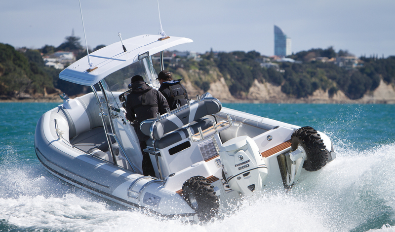 Strata 770 yacht tender by Smuggler Marine - Photo by Gareth Cooke Subzero Group