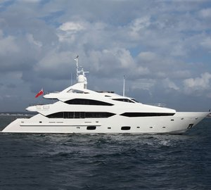 Asia Pacific Superyachts reports arrival of Sunseeker 40M superyacht TANVAS at Wave Master shipyard