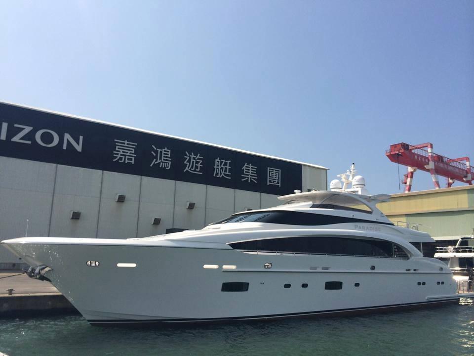 Super yacht Paradise - Image credit to Mark Western