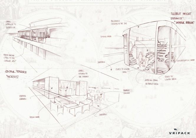 Superyacht concept CASA by Vripack