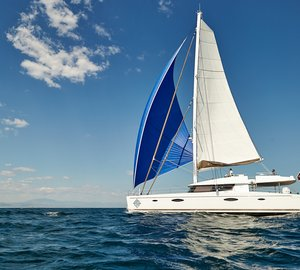 British Virgin Islands Yacht Charter aboard 2014 Victoria 67 Catamaran Yacht LIR