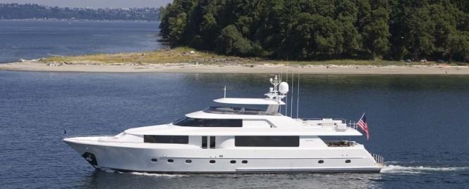Westport 112 motor yacht Lyons Pride