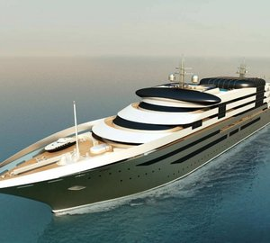 Studio Cichero srl nominated for IY&A Award 2015 with their innovative 163m mega yacht concept