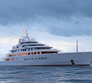 Nauta-designed 180m motor yacht AZZAM embarks on her maiden voyage