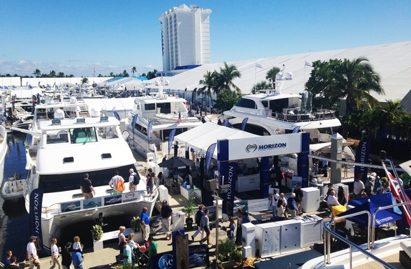A very successful FLIBS 2014 for Horizon Yachts