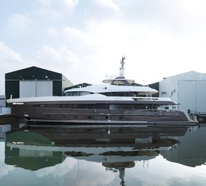 42m ALIVE yacht by Heesen Yachts completes her sea trials