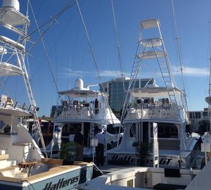 Strong sales for Hatteras Yachts at FLIBS 2014