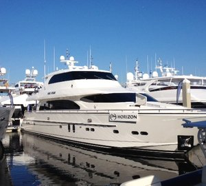 Horizon Yachts at the 2014 Fort Lauderdale International Boat Show
