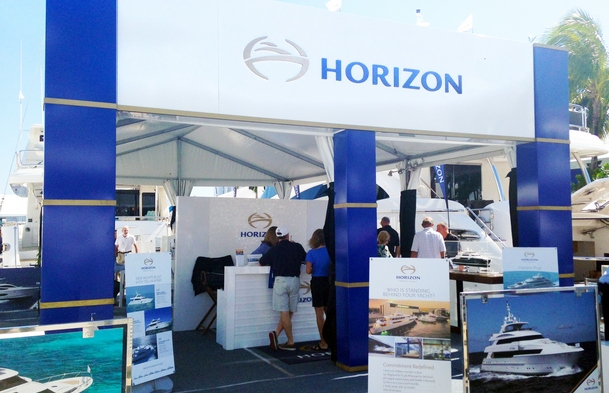 Horizon stand at FLIBS 2014