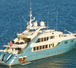 Videoworks participates in refit of ISA 470 motor yacht AQUAMARINA