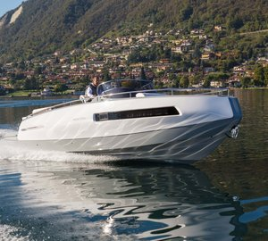 Invictus Yacht presents new 280GT yacht tender model in collaboration with Christian Grande Design Works