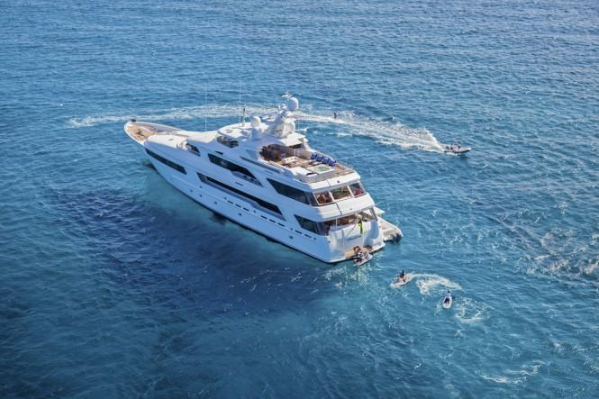 Luxury charter yacht VICTORIA DEL MAR - Jim Raycroft