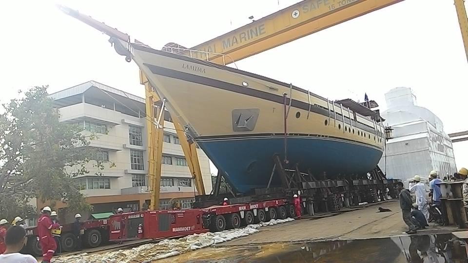 Luxury sailing yacht LAMIMA - Image credit to Italthai Marine Limited