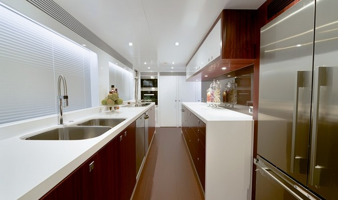 Luxury yacht Paradise - Galley
