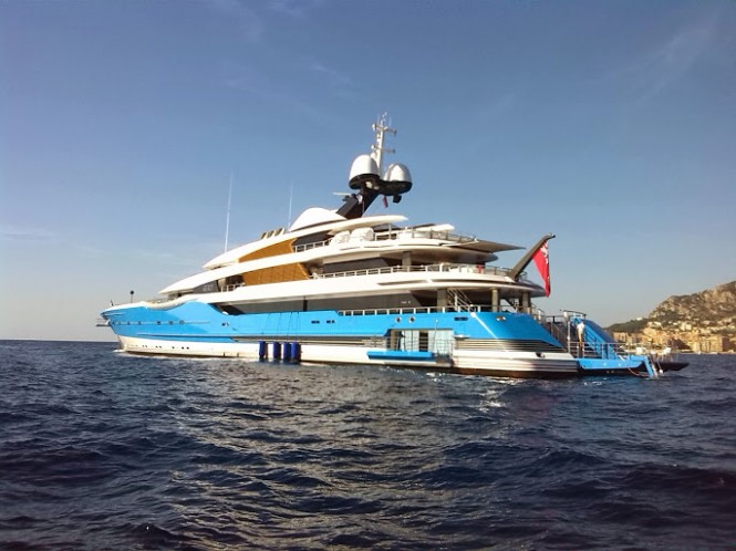 Madame Gu Superyacht at MYS 2015 - Photo by CharterWorld.com