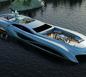 New Xhibitionist Event Yacht concept released by NEDSHIPGROUP