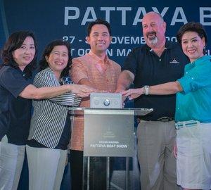 Ocean Marina Pattaya Boat Show 2014: Busy first day