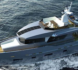 Bering Yachts working on new motor yacht Bering 70