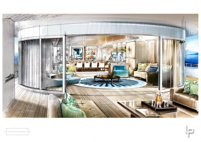 Route 66 Yacht - Interior