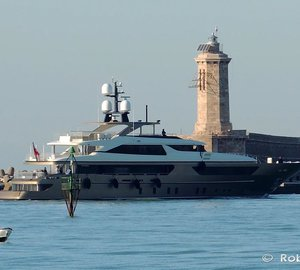 Photos and video of Sanlorenzo 46Steel motor yacht TRIDENT