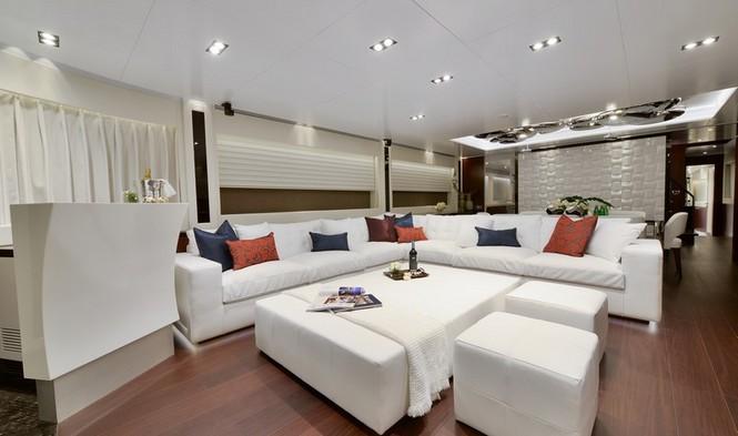 Super yacht Paradise - Saloon