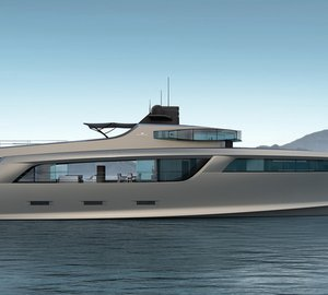 Esenyacht unveils more details about new 50m Project TAURUS Yacht at Qatar International Boat Show 2014