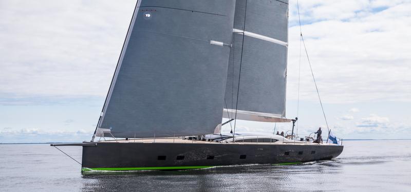Super yacht WinWin - Photo by Jeff Brown SYM