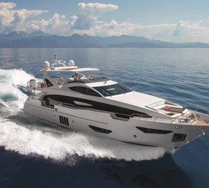 Two International Awards for Azimut Grande 95RPH Yacht