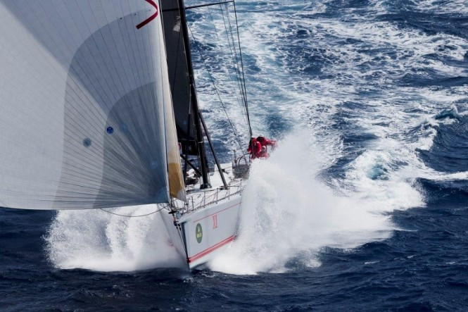 Superyacht Wild Oats XI at RSHYR 2012 - Credit to Rolex/Carlo Borlenghi