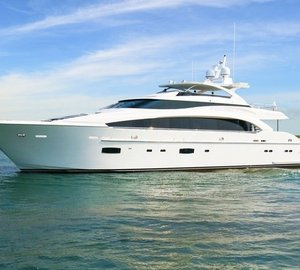 Horizon Yachts announces launch of third RP110 motor yacht PARADISE