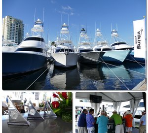A very successful Ft. Lauderdale Boat Show for Viking Yachts