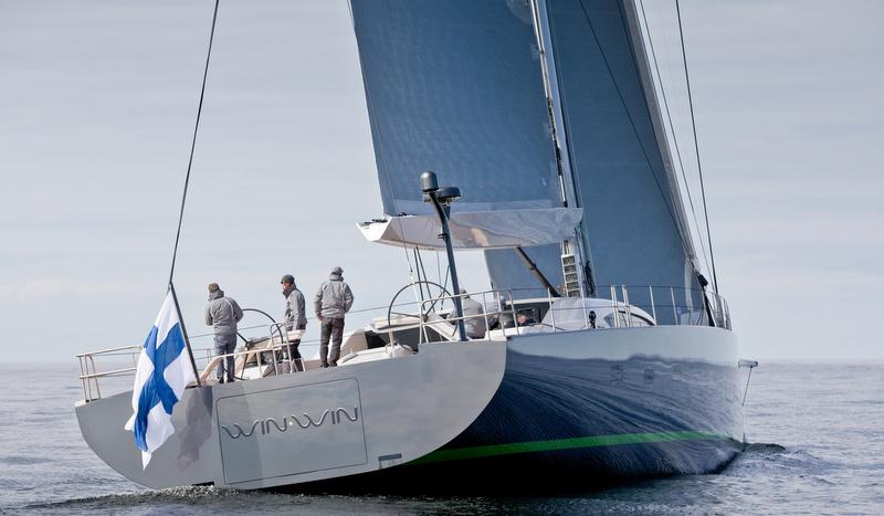 WinWin Yacht - aft view - Photo by Jeff Brown SYM