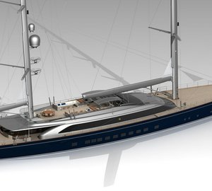 Construction of 70m Perini Navi superyacht SYBARIS (hull C.2227) well underway