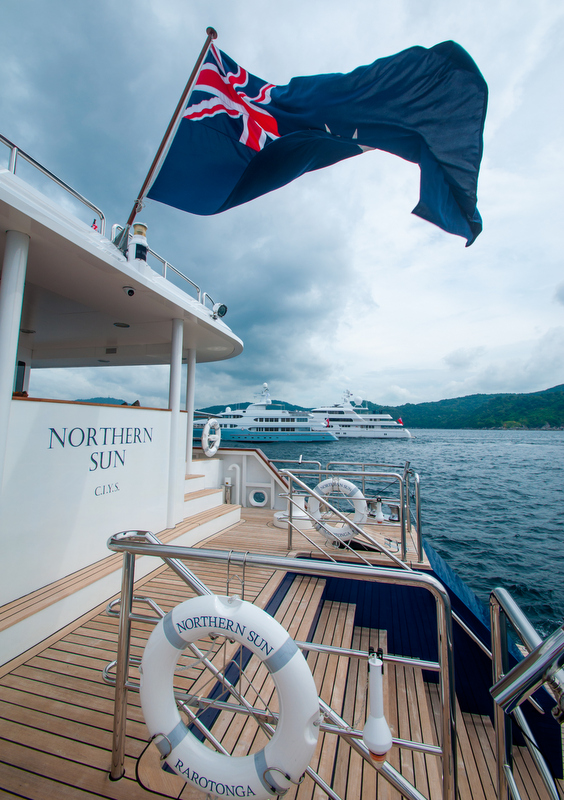 ASR 2014 from aboard Northern Sun Yacht - Image credit to Asia Superyacht Rendezvous